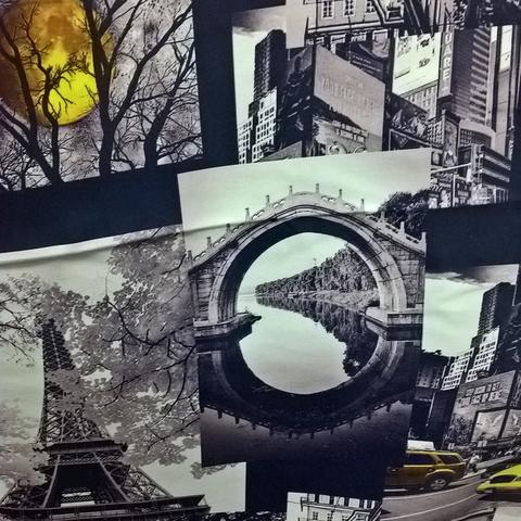 Ткань блэкаут для штор оптом Париж. Ш - 280 см. Арт. AF-GG-BL