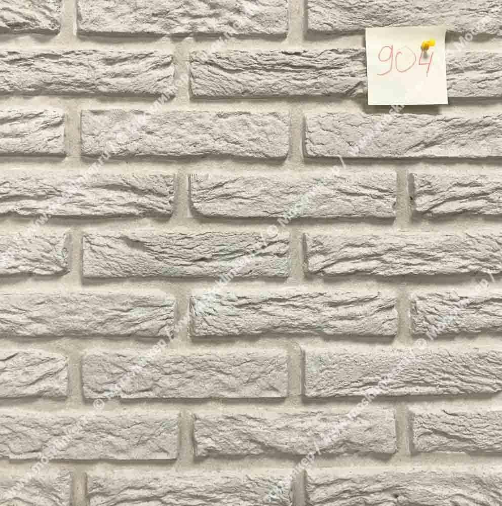 Клинкервиль 904, цвет белый - Искусственная плитка под покраску для имитации кирпичной кладки