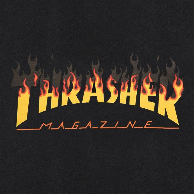 Футболка THRASHER BBQ (Black)