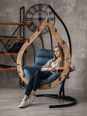 Подвесное кресло-кокон Капулло (Орех)