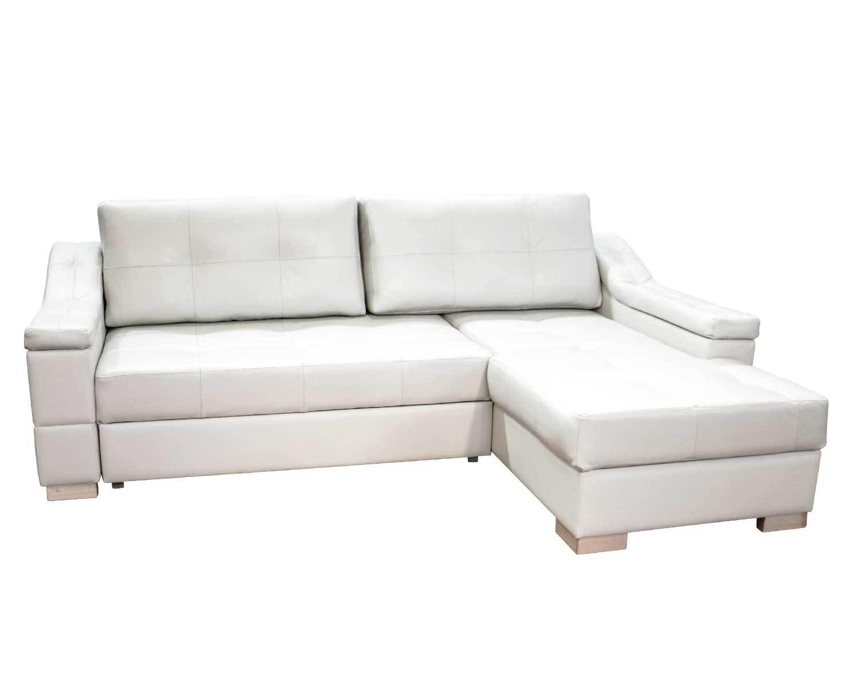 Угловой диван Макс П5 2д1я, светлые ножки