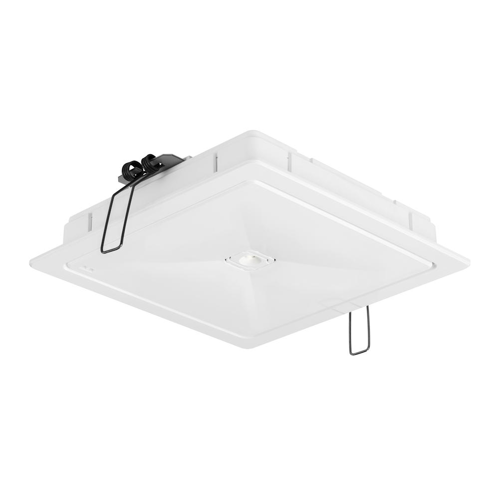 Аварийные светильники антипанического освещения больших открытых пространств ONTEC R M2 с рамкой – общий вид