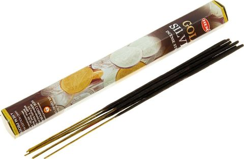 Индийские палочки HEM Gold & Silver