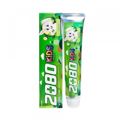 Aekyung Dental Clinic 2080 KIDS Apple Зубная паста детская Яблочная 80 гр