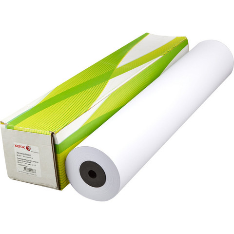 Бумага широкоформатная Xerox Architect (диаметр втулки 76 мм, длина 175 м, ширина 914 мм, плотность 80 г/кв.м, белизна 170% CIE, диаметр втулки 76 мм)