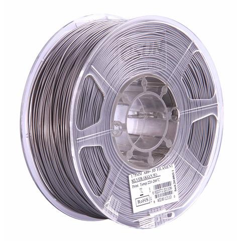 ESUN ABS+ 1.75 мм, 1 кг, серебряный