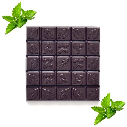 шоколад на меду с мятой
