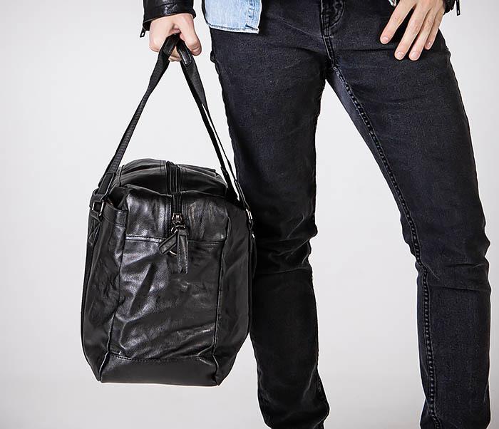 BAG544 Мужская дорожная сумка с ремнем на плечо фото 02
