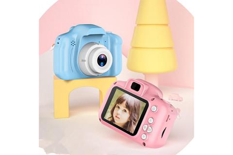 Детский фотоаппарат X2 цифровой голубой