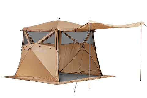 Кухня-шатер HIGASHI Pyramid Camp Sand