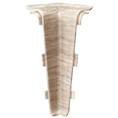 Угол внутренний для плинтуса ПВХ Arbiton Indo 03 Дуб Лофт 2 штуки
