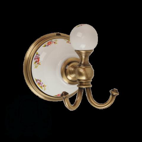 Крючок Migliore Provance ML.PRO-60.509 керамика с декором
