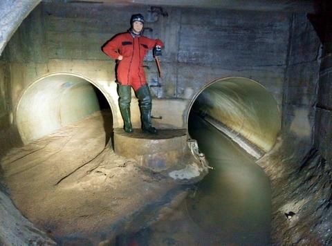 Система сигнализации загазованности подземных коллекторов