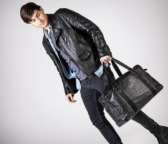 BAG544 Мужская дорожная сумка с ремнем на плечо фото 03