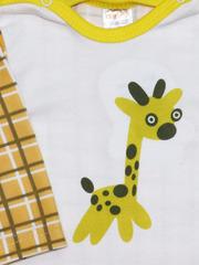 KotMarKot. Боди с длинными рукава интерлок Теплая Африка вид 2