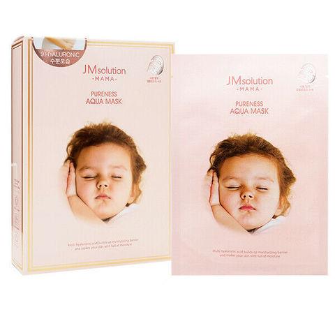 JMsolution Mama Pureness Aqua Mask гипоаллергенная увлажняющая маска с гиалуроновой кислотой