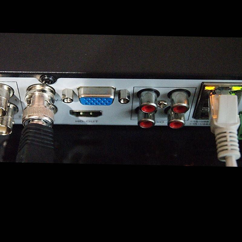 2 Мп гибридный видеорегистратор наблюдения на 4 канала +4 микрофона