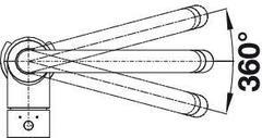 Смеситель Blanco Mida-S Хром - схема