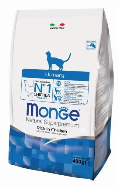 Купить Monge Cat Urinary корм для кошек профилактика МКБ 400г