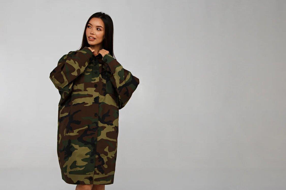 Куртка милитари YOS от украинского бренда Your Own Style