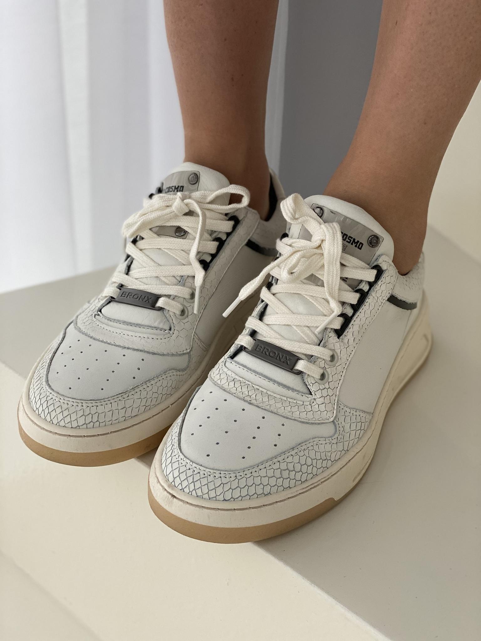 Кеды, BRONX, Old cosmo Heel (белый)
