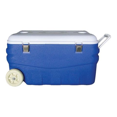 Автохолодильник Арктика 2000-80 80л синий/белый (2000-80/BLU)