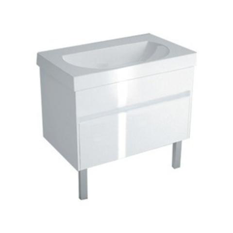 Тумба (2 ящика) с раковиной Kerama Marazzi Buongiorno 80 белый