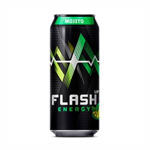 Напиток энергетический FLASH Up Mojito 0,45 л ж/б РОССИЯ