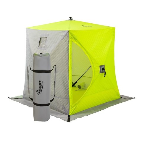 Зимняя палатка Куб Premier трехслойная 1,5х1,5