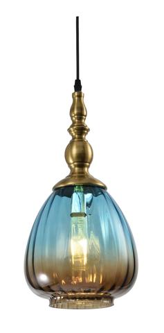 Подвесной светильник Escada 1158/1S E27*60W Blue gradient brown