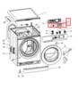 Модуль (плата индикации LED) для стиральной машины Indesit (Индезит) / Ariston (Аристон) - 378701,  301823, 309277