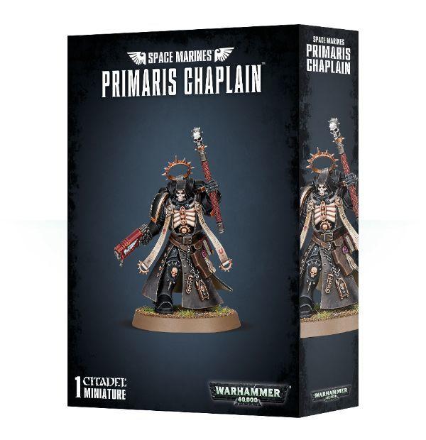 Primaris Chaplain, коробка