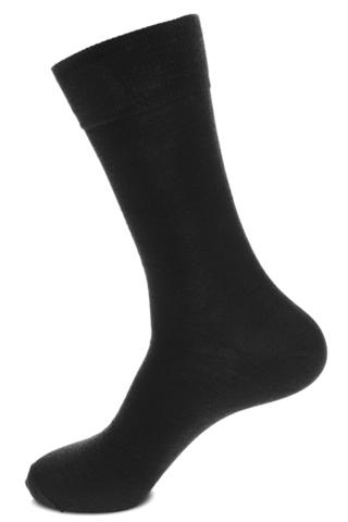 Носки мужские шерсть+бамбук (Черные),sphr64001 Saphir (3 размера)