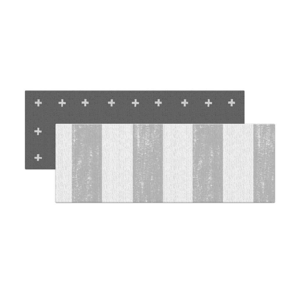 Licoco игровой двусторонний коврик 45х120x1,5  PVC Crost