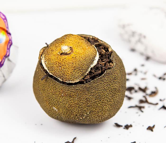 TEA-CH117 Шу Пуэр в мандарине (1 шт) фото 04
