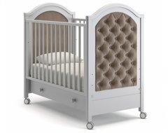 Кровать детская Софи Люкс белая ночь