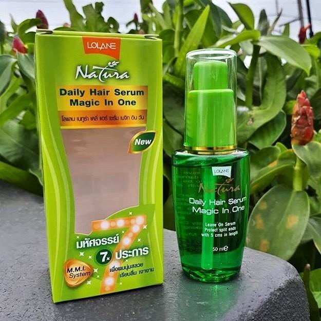 Сыворотка для восстановления и предотвращения сечения волос Natura Lolane 50 мл