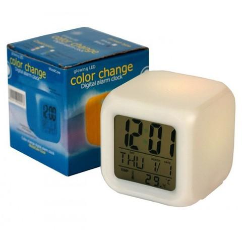 Часы будильник LED Color Change