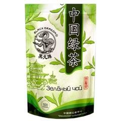 Чай зеленый ЧЕРНЫЙ ДРАКОН жасмин 100г