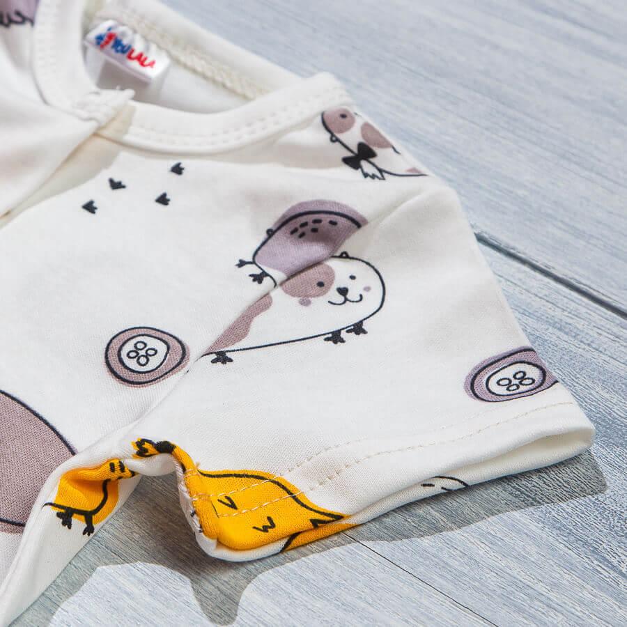 Комбинезон открытый рукав для новорожденных