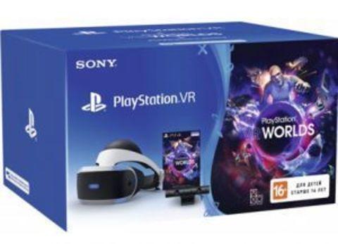 Шлем виртуальной реальности Sony PlayStation VR V2 CUH-ZVR2 + Камера Eye V2 + игры