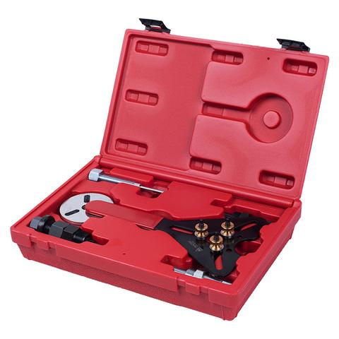МАСТАК (105-30008C) Набор для обслуживания компрессора кондиционера, кейс, 8 предметов