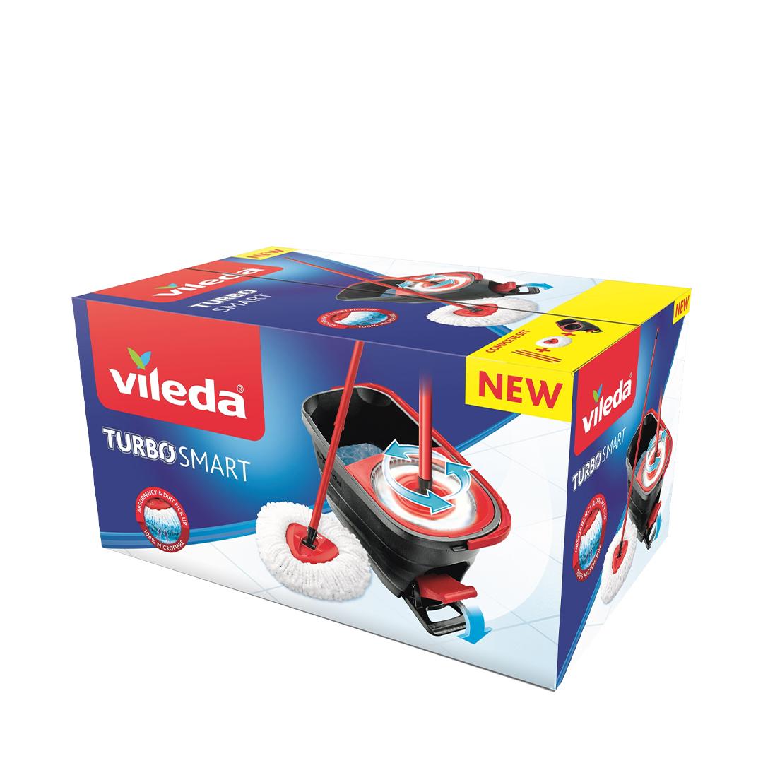 Набор для уборки VILEDA TURBO SMART c педальным отжимом
