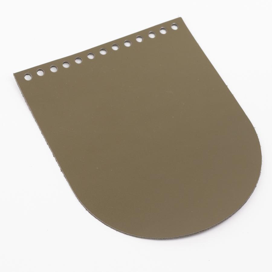 """Клапаны для сумки Клапан для сумочки кожаный """"Хаки"""" 15,5*19,5 см IMG_1081.jpg"""