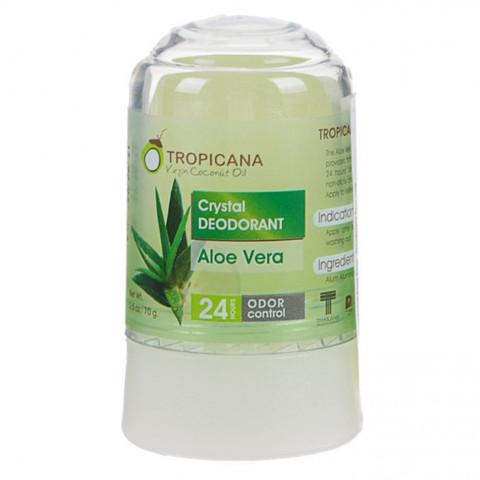 "Дезодорант-кристалл Tropicana Crystal Deodorant Natural ""Aloe Vera Clistal"""