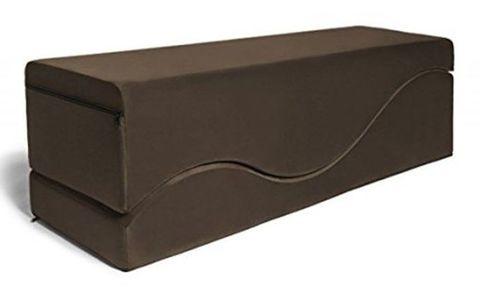 Коричневая вельветовая подушка для любви Liberator Retail Equus Wave