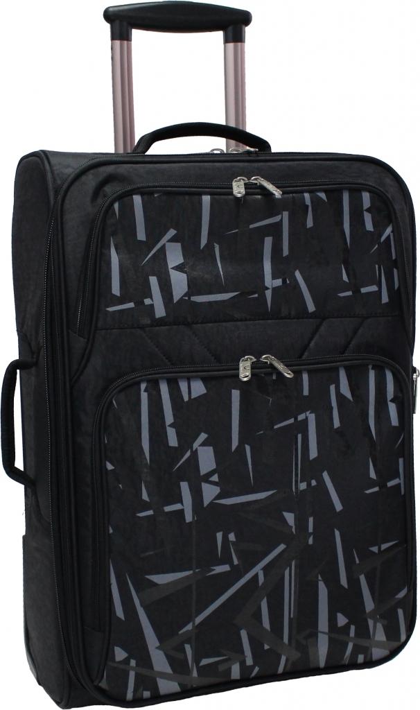 Дорожные чемоданы Чемодан Bagland Леон средний 51 л. Чёрный (003767024) 9fdef890a0a6f2496628626367d39280.JPG