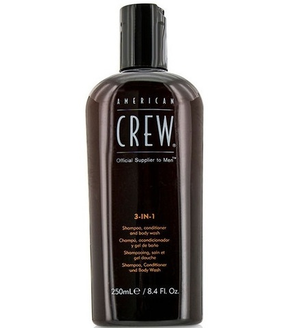 American Crew Classic 3-in-1 - Шампунь, кондиционер и гель для душа 3 в 1 250 мл