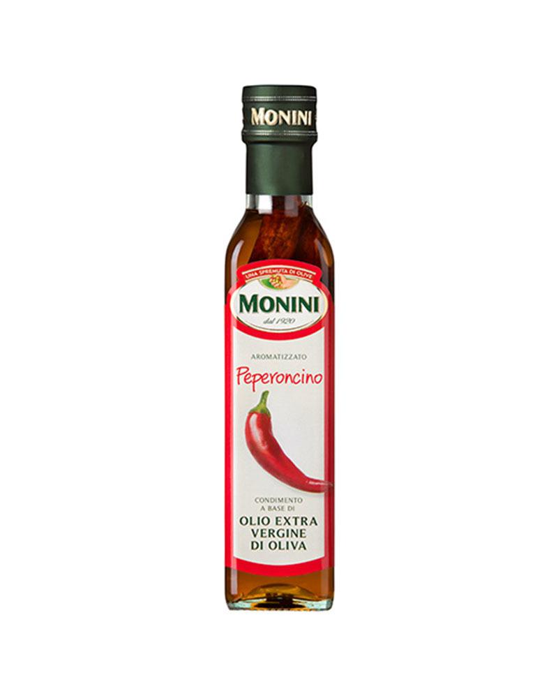 Масло оливковое Monini Экстра Вирджин с Красным Острым Перцем 250 мл.