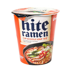 Острая куриная лапша Hite Ramen мальенкая чашка 65 гр